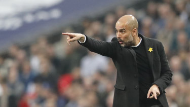 Pep Guardiola, Manchester City manager, would like to coach a national team in the future.