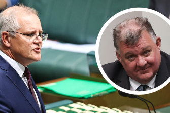 "Speaking in question time on Wednesday, Prime Minister Scott Morrison said his views ""do not align"" with those of Liberal backbencher Craig Kelly."