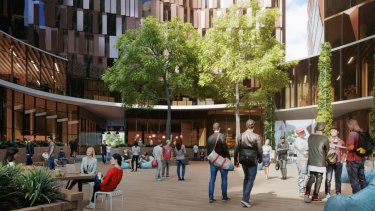 Renders of the new Melbourne Connect.