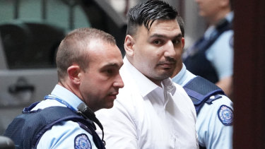 "James ""Dimitrious"" Gargasoulas arrives at the Supreme Court in Melbourne, Friday"