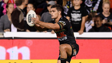 Focus: Nathan Cleary showed nerves of steel in the clutch moments.