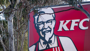 KFC Australia's performance helped to offset weakness elsewhere.