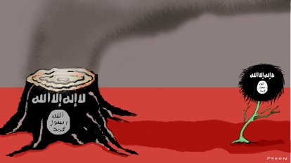 The caliphate is dead. For now