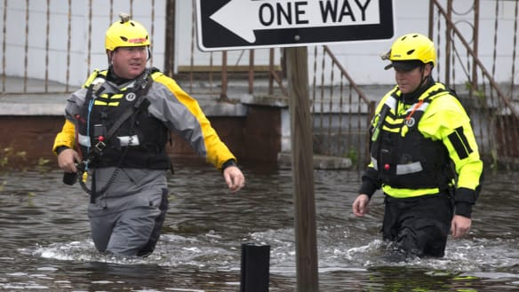 Death toll rising as Florence brings record rain to North Carolina