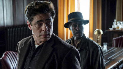 The star-studded crime caper that's shaking up Hollywood