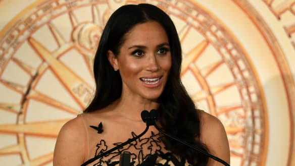 From Tongan traditional dress to hairy landing for Harry and Meghan