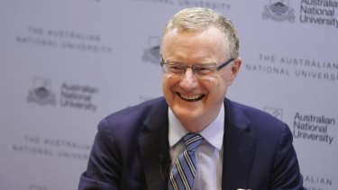 Philip Lowe, Governor of the Reserve Bank of Australia: Rates are down to 1 percent.