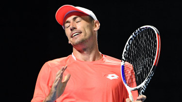 John Millman is out of the Monte Carlo Masters.