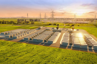 Neoen's proposed 300 megawatt battery near Geelong is among the strong pipeline of new storage projects.