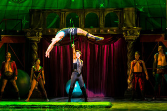 Pippin requires performers who have circus skills as well as the ability to dance and sing.