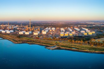 ASX-listed fuel supplier Viva Energy runs the Geelong oil refinery.