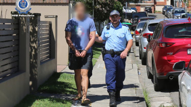 The 20-year-old was arrested in Balgowlah on Tuesday.