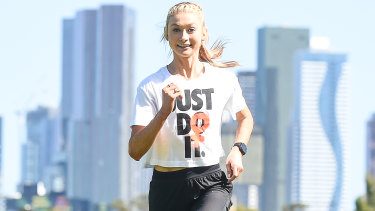 Jessica Hull is already qualified in the 1500 and 5000m for the postponed Tokyo Olympic Games.