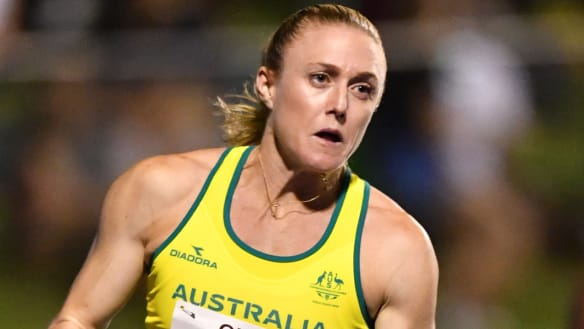 Sally Pearson closes in on full training