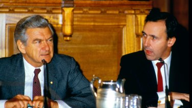 Bob Hawke and Paul Keating have rarely spoken since the leadership change of 1991.