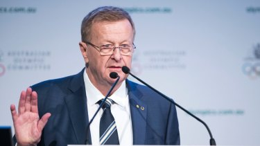 Australian Olympic Committee president John Coates maintains athletes will not be stranded in Japan.
