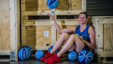 Canberra Capitals star Kelsey Griffin is WNBA-bound.