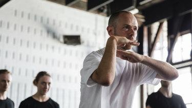 Chunky Move's artistic director Antony Hamilton.