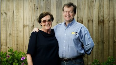 Bill Shorten and his mother Ann, pictured in 2005.