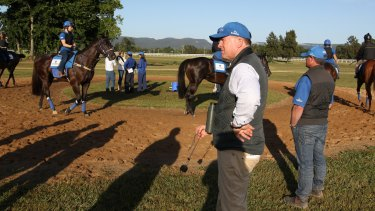Lyle Chandler says Banju has ultimately benefitted from a poor start at Scone.
