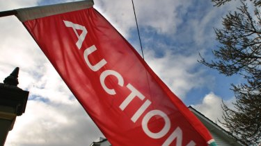 McGrath said auction clearance rates and the number of properties taken to auction were well below the previous year.