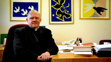 """""""We have not sought concessions to discriminate against students or teachers based on their sexuality, gender identity or relationship status"""": Archbishop Mark Coleridge."""