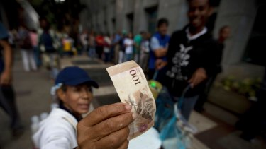 During Venezuela's economic crisis, their currency was declared worthless and money littered the streets.