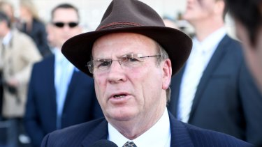 Trainer Robert Smerdon could face a life ban from horse racing.