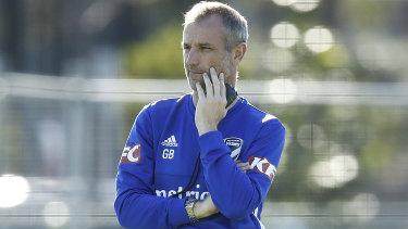 Melbourne Victory head coach Grant Brebner.