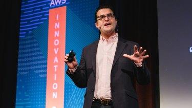 Amazon Web Services Australia and New Zealand managing director Paul Migliorini.