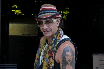 Colourful Sydney property developer Albert Bertini in 2012.