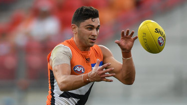 The Giants' injury woes have placed extra pressure on young guns like Tim Taranto.