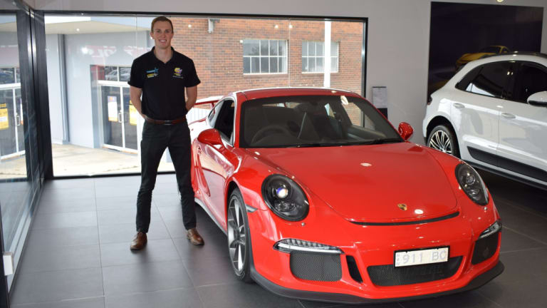 Canberra race car driver Cameron Hill will join the Porsche Carrera Cup.