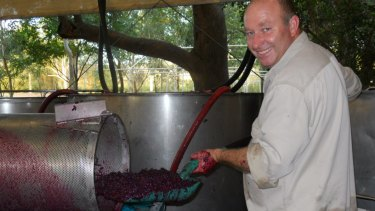 Faber Vineyard's  John Griffiths has been making wine in the Swan Valley for 20 years.