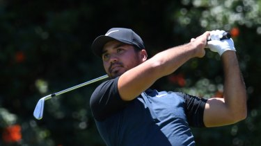 One to watch: Jason Day tees off at last year's Australian Open.