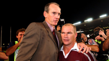 Wayne Bennett already has a long history with the Queensland outfit.