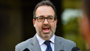 Fight back: Victorian Racing Minister Martin Pakula is set to support prizemoney increases for the spring carnival.