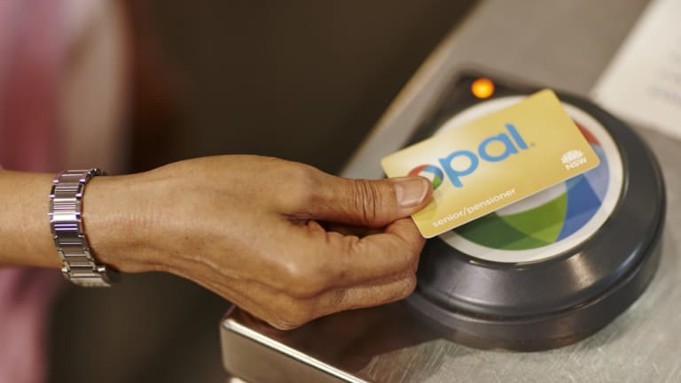 Some lucky commuters got a significant Opal card discount today.