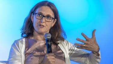 Cecilia Malmstrom, European Union trade commissioner.
