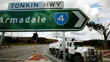 Kwinana Industries Council director Chris Oughton believes an expanded outer harbour could utilise roads such as Tonkin Highway to send trucks to distribution centres in Kewdale.