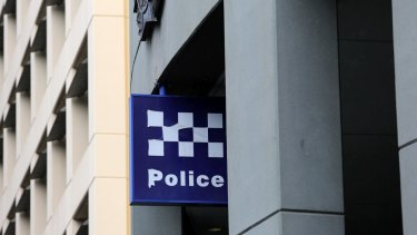 The man allegedly drove to the police station while noticeably drunk.