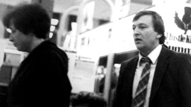 KGB agent Valery Ivanov in Canberra August 1981. He was subsequently expelled from Australia.