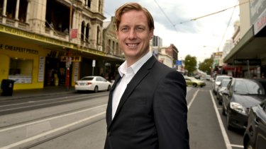 Greens transport spokesman Sam Hibbins.