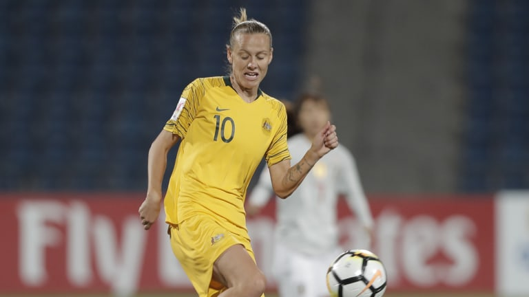 Emily van Egmond's injury is a blow for both the Jets and the Matildas.