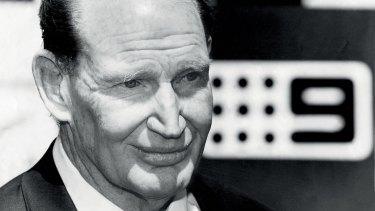 Kerry Packer brought cricket to Nine in 1977.