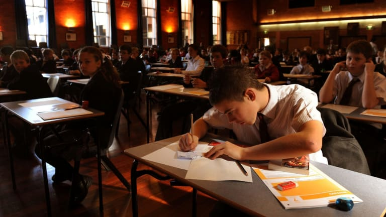 ACT students score generally well in literacy and numeracy tests, but their results fall well behind those of students in similarly advantaged schools interstate.