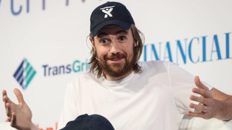 "Atlassian boss Mike Cannon-Brookes called the Prime Minister's video message ""bullshit""."