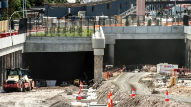 WestConnex has faced stiff opposition from residents in Sydney's inner west.