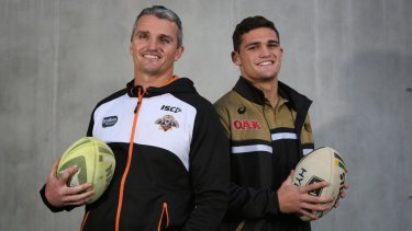 Futures uncertain: Ivan and Nathan Cleary.