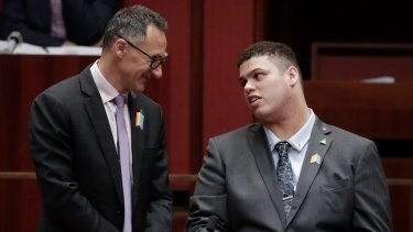 Greens leader Senator Richard Di Natale and Senator Jordan Steele John will today unveil their party's WA policy they will take to the election.